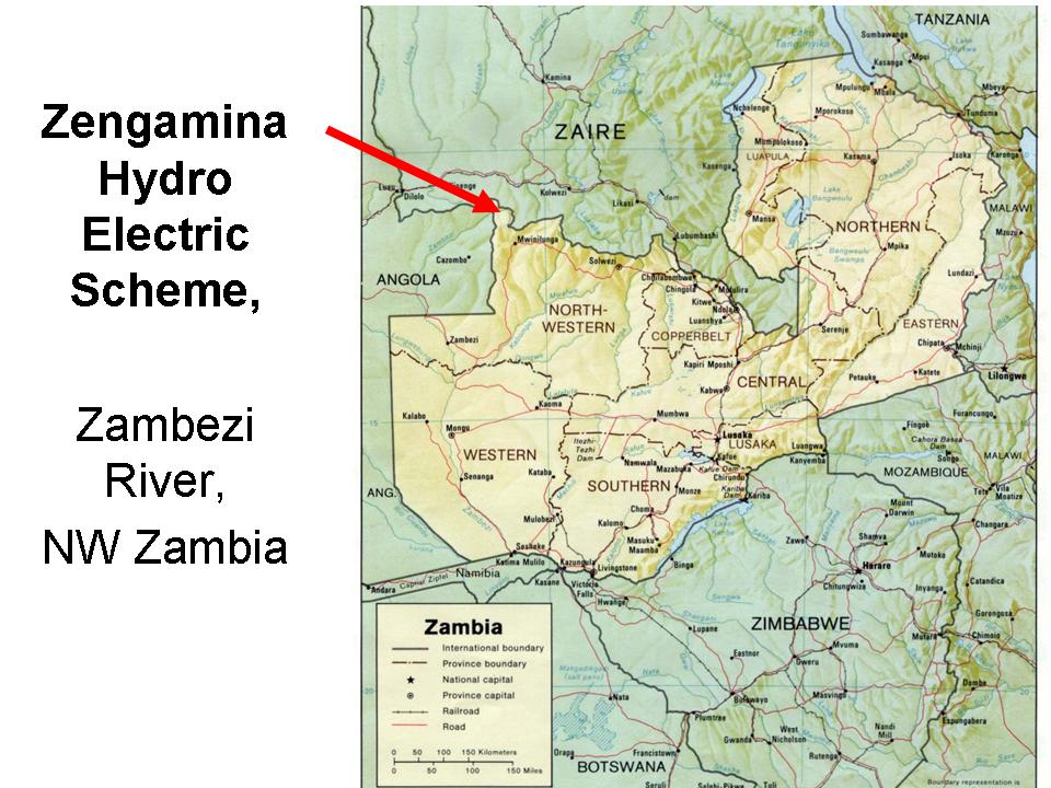 Zengamina Hydro Project North West Zambia Development Trust